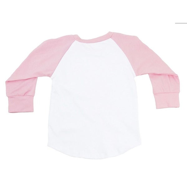Baby Toddler Long Sleeve Raglan Baseball Soft Cotton T-Shirt Tee Jersey Top