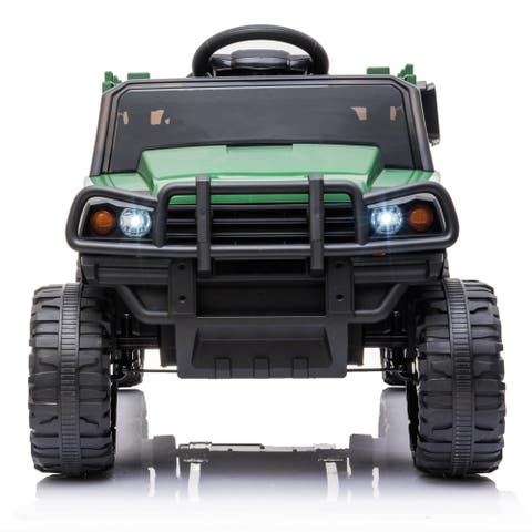 "Ride On Truck, 12V Battery Powered Electric Ride On Car - 7'6"" x 9'6"""