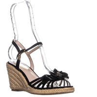 Nanette Nanette Lepore Quince Wedge Sandals, Black