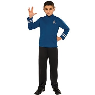 Rubies Spock Child Costume - Blue  sc 1 st  Overstock.com : star trek costume dress  - Germanpascual.Com