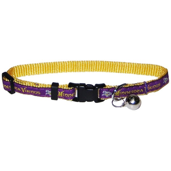 Shop NFL Minnesota Vikings Cat Collar - On Sale - Free Shipping On ... 4b975a21f
