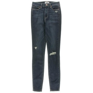 Paige Womens Margot Super High Rise Ultra Skinny Jeans - 25