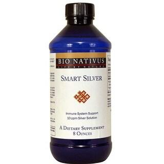 Bio Nativus Smart Silver 10ppm Immune Support 8 ounces