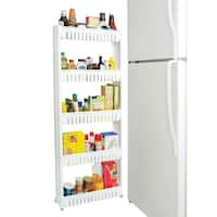 "Ultra Thin 5-Tier Rollout Shelf - 54"" x 21"" x 5"""