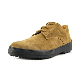 Tod's Derby Rest. Double T Uomo Cap Toe Suede Oxford
