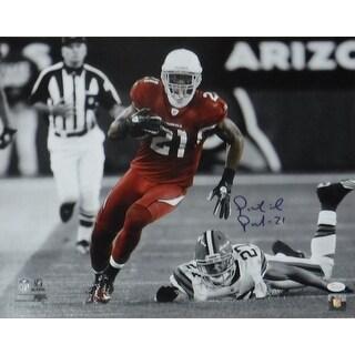 Patrick Peterson Autographed NFL Arizona CardinalsNFL 16x20 Photo Sephia vs Browns JSA