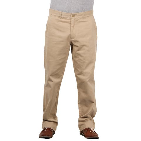 Black Brown 1826 Men's Classic Fit Twill Chino Pant