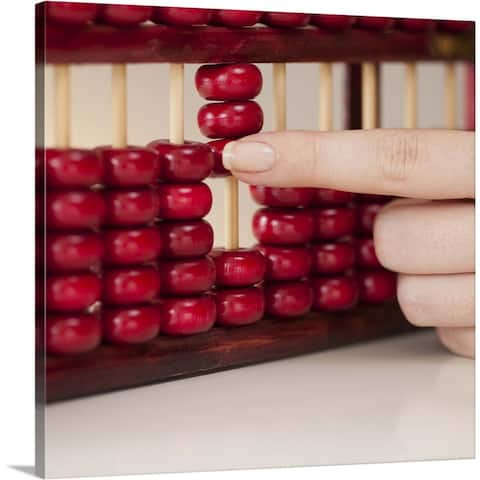 """""""Abacus"""" Canvas Wall Art"""