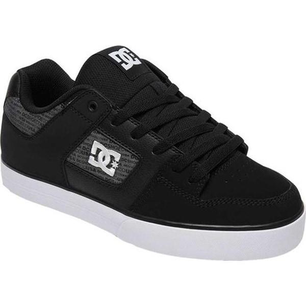 Shop DC Shoes Men s Pure SE Black Heather Grey - On Sale - Free ... d04fd11736