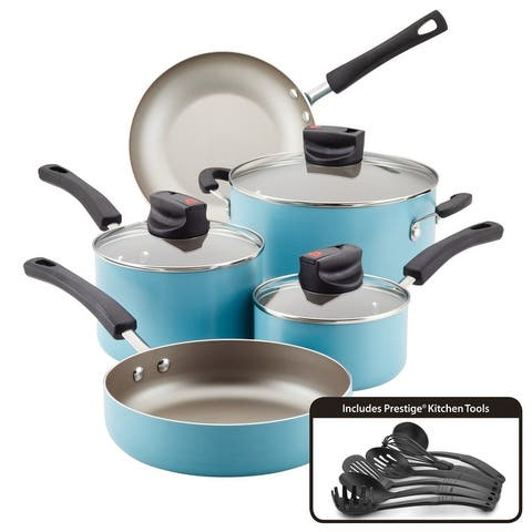 Farberware Smart Control Cookware Nonstick Pots and Pans Set, 14pc