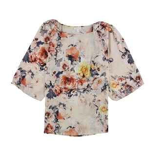 Link to Charter Club Womens Floral Pullover Blouse, pink, 3X Similar Items in Tops