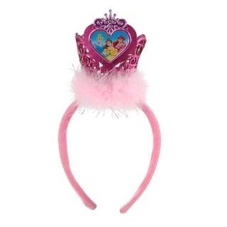 Disney Princess Mini Crown Costume Headband - Pink