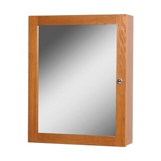 "Foremost WRC1924 Worthington 24"" x 19"" Single Door Framed Medicine Cabinet with Plain Mirror"