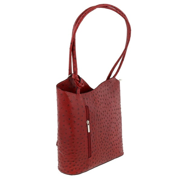 HS Collection HS3005 RO PHOEBE Red Backpack/Shoulder Bag - 12-10-3.5