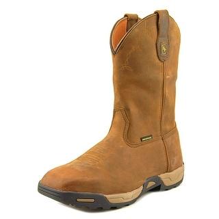 Dan Post 69852 Men Round Toe Leather Tan Work Boot