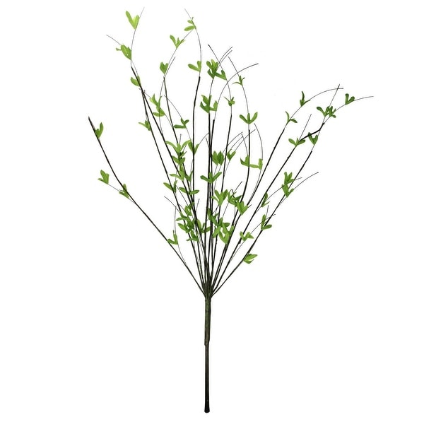 """Shop 37"""" Green And Brown Artificial Decorative Willow"""