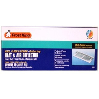 "Frost King HD5 Heat and Air Deflector, 10"" to 14"""