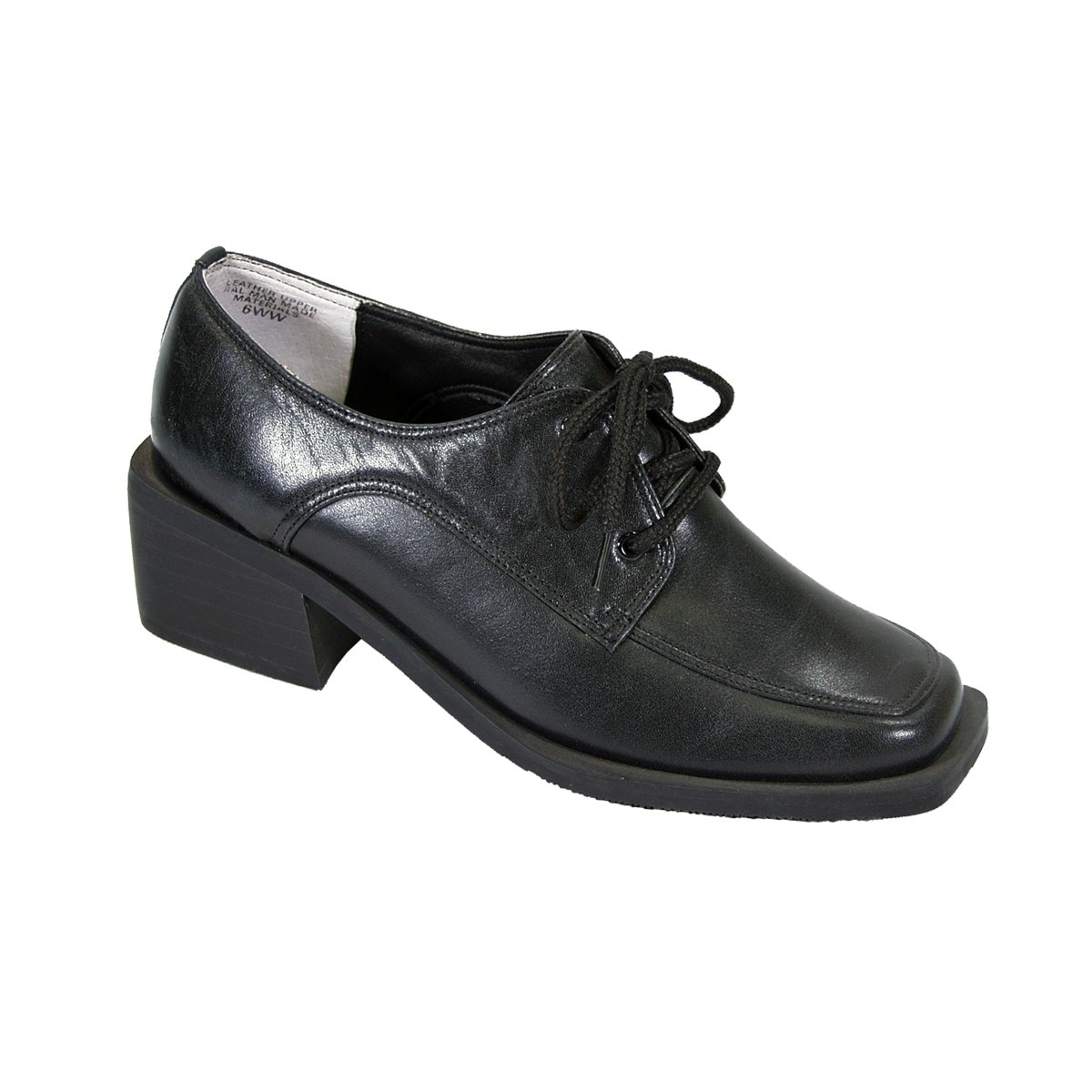 wide width leather shoes