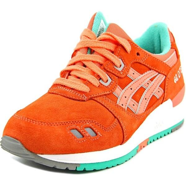 Asics Gel-Lyte III Round Toe Suede Sneakers