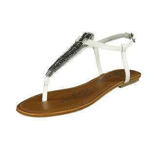 American Rag Women's Sari Thong Slingback Sandals|https://ak1.ostkcdn.com/images/products/is/images/direct/58390993d92b353bd532a24d8430ce81702f5f41/American-Rag-Women%27s-Sari-Thong-Slingback-Sandals.jpg?impolicy=medium