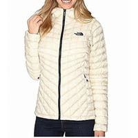 The North Face Beige Womens Size XL Theromal-Ball Hooded Jacket