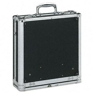 Vaultz Locking Media Binder Padded Case Holds 200 Disks
