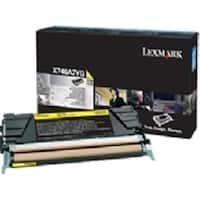 Lexmark X746 x748 Yellow Return Program Print Cartridge - 6k