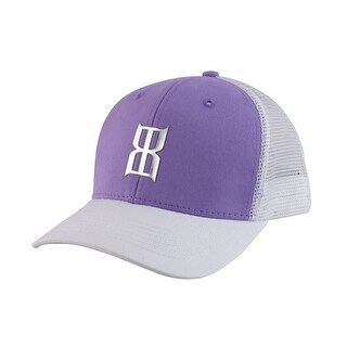 Bex Hat Womens Front Logo Snap Back Glamous Purple BEX-WMS02-H