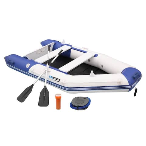 7.5ft/10ft Inflatable Dinghy Boat Fishing Tender Rafting Water Sports