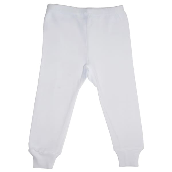 Bambini White Long Pants - Size - Large - Unisex