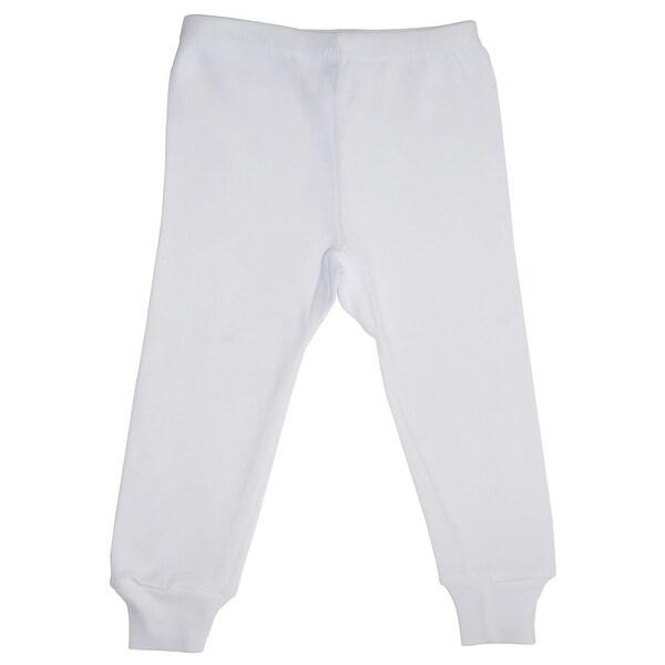 Bambini White Long Pants - Size - Medium - Unisex