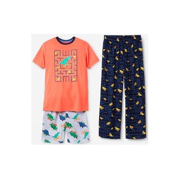 Size 5 Carter/'s Boys 2-Piece Fleece Pajama Set Red // Pizza New!