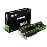 MSI GeForce GTX 1080 Ti AERO 11GB OC Graphics Card