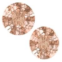 Swarovski Crystal, Low Profile Round Flatback Rhinestone SS20 4.6mm, 24 Pieces, Crystal Rose Patina