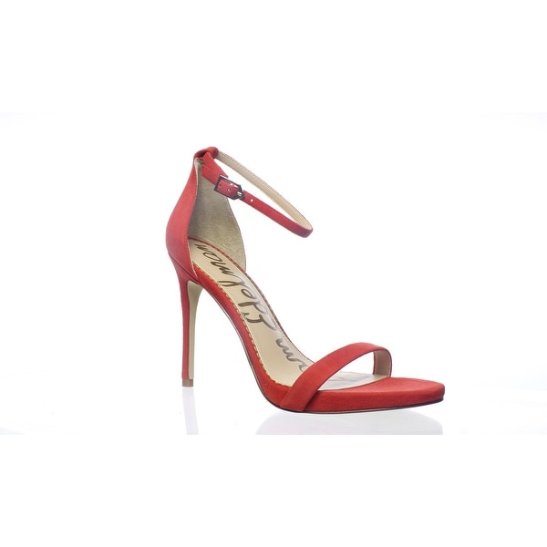 d29599ea456 Shop Sam Edelman Womens Ariella Candy Red Ankle Strap Heels Size 8 ...