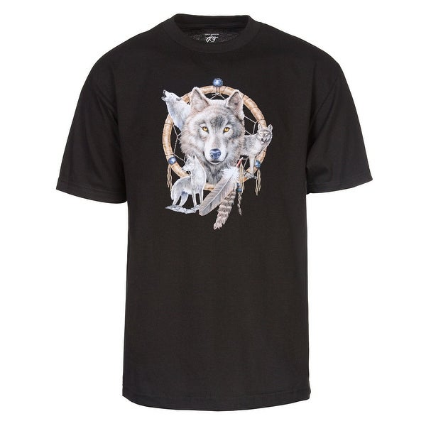 Dream Catcher Wolf Pack T Shirt