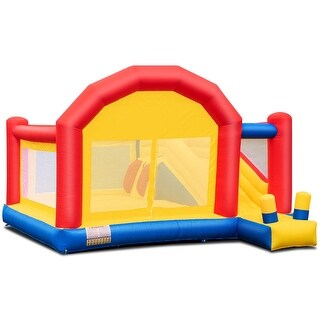 Link to Inflatable Bounce House Slide Bouncer Castle without Blower Similar Items in Outdoor Play