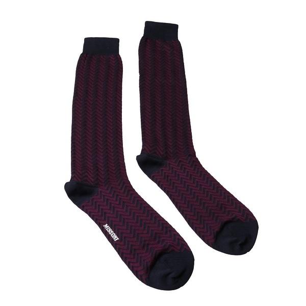 Missoni GM00COU5699 0004 Fuschia/Navy Boot Socks
