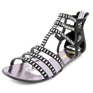 Report Layshia Open Toe Synthetic Gladiator Sandal