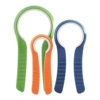 Norpro 564 Jar Openers, ABS, Blue/Green/Orange