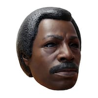 Rocky Apollo Creed Costume Mask - Brown