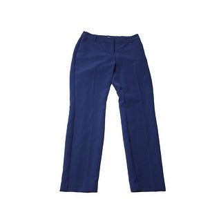 Bar Iii Navy Straight-Leg Dress Pants 2