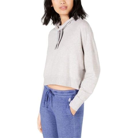 Free People Womens Cropped Sweatshirt