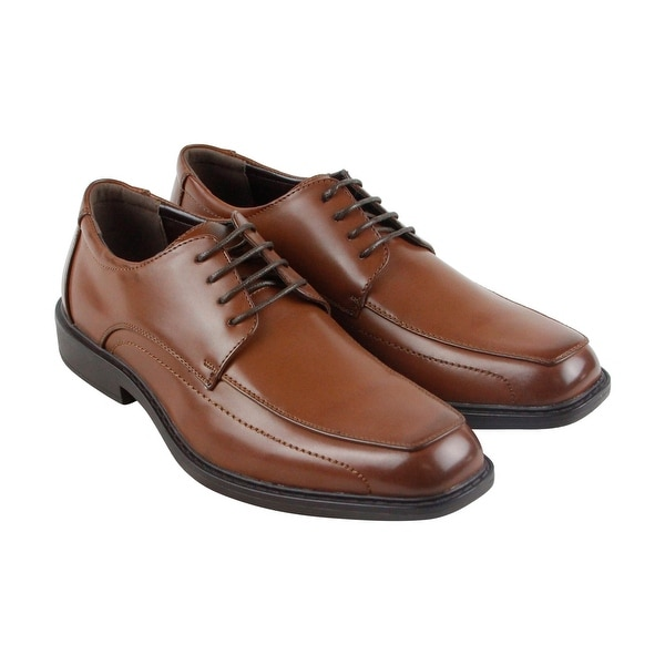 Kenneth Cole Unlisted Secret Mission Mens Brown Casual Dress Shoes