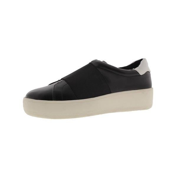 2c3b1c5bd14c Steven By Steve Madden Womens Bravia Fashion Sneakers Faux Leather Slip On
