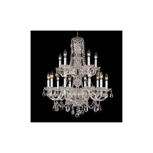 488201-10-5HC Crystal Chandelier Antique Reproduction with Hand - 488201-10-5HC Crystal Chandelier Antique Reproduction With Hand