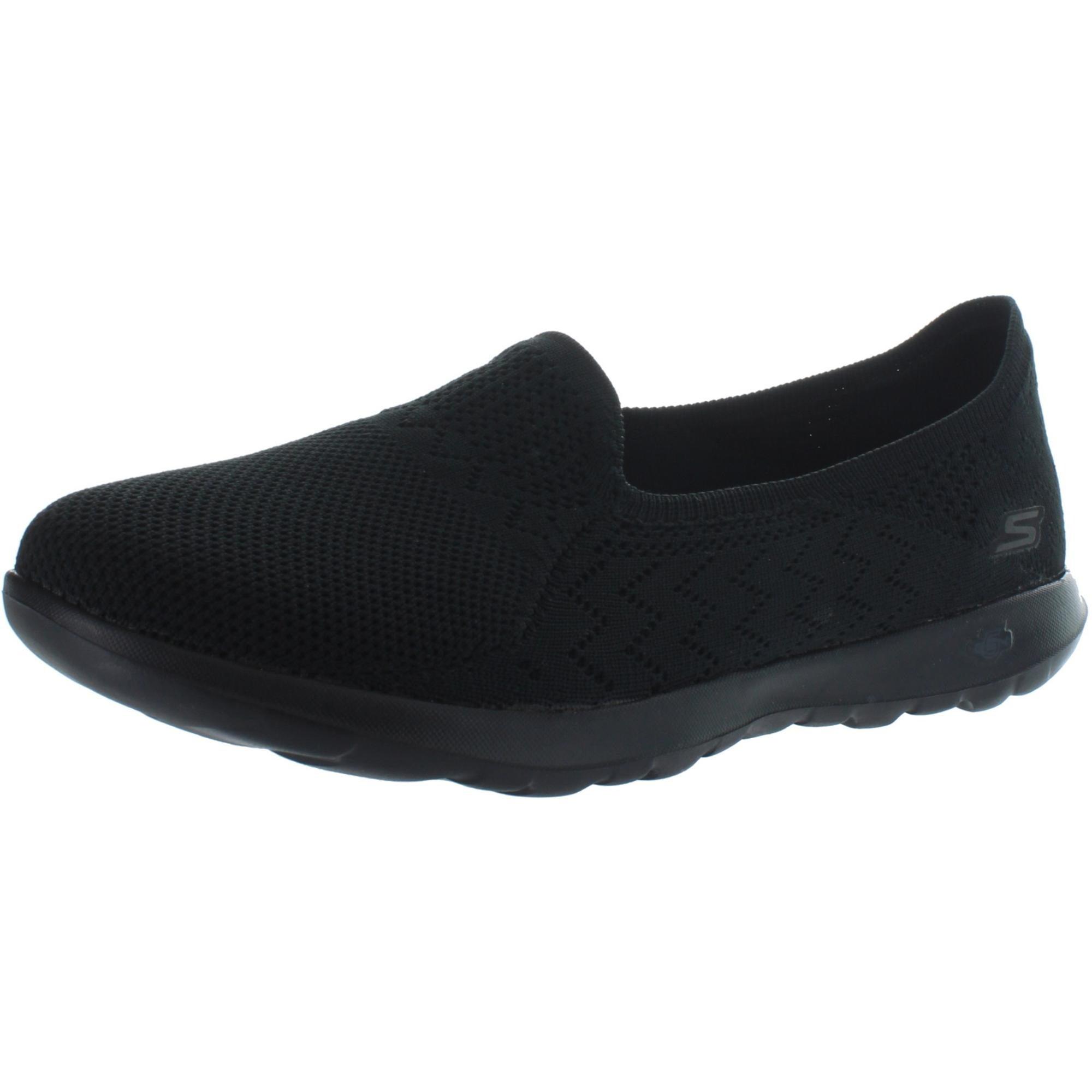 revolución conveniencia Izar  Shop Skechers Womens Ruby Athletic Shoes Lightweight Pull On - Black - 11  Medium (B,M) - Overstock - 31676919