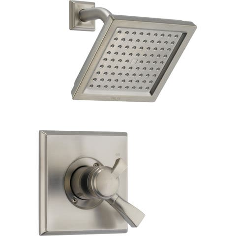 Delta T17251 Dryden 2.5 GPM Single Function Shower Head and Trim Package with Touch Clean Technology