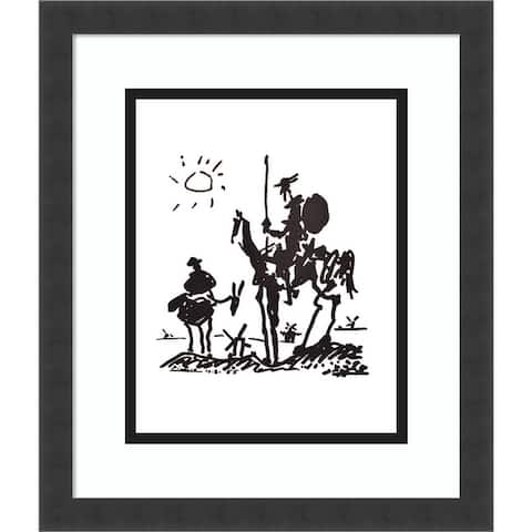 Don Quixote by Pablo Picasso Framed Wall Art Print