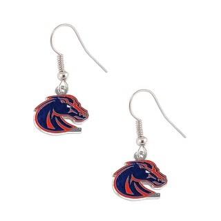 Boise State Broncos Dangle Logo Earring Set NCAA Charm Gift